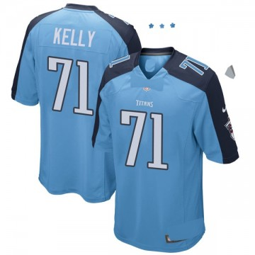 Youth Nike Tennessee Titans Dennis Kelly Light Blue Team Color Jersey - Game