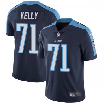 Youth Nike Tennessee Titans Dennis Kelly Navy Blue Alternate Vapor Untouchable Jersey - Limited