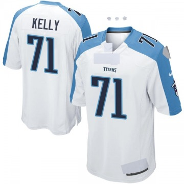 Youth Nike Tennessee Titans Dennis Kelly White Jersey - Game