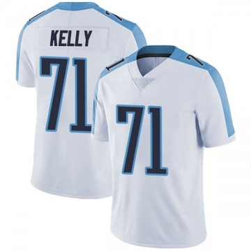 Youth Nike Tennessee Titans Dennis Kelly White Vapor Untouchable Jersey - Limited