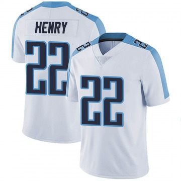 Youth Nike Tennessee Titans Derrick Henry White Vapor Untouchable Jersey - Limited