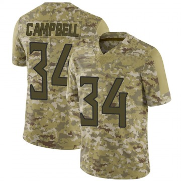 Youth Nike Tennessee Titans Earl Campbell Camo 2018 Salute to Service Jersey - Limited