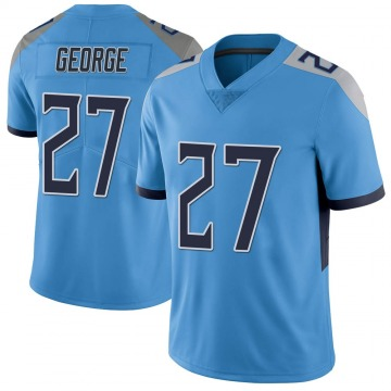 Youth Nike Tennessee Titans Eddie George Light Blue Vapor Untouchable Jersey - Limited