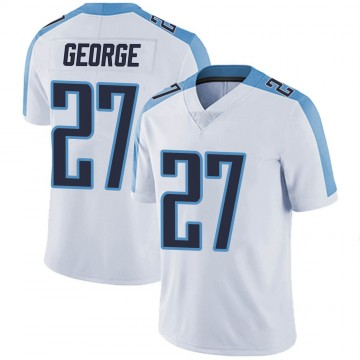 Youth Nike Tennessee Titans Eddie George White Vapor Untouchable Jersey - Limited
