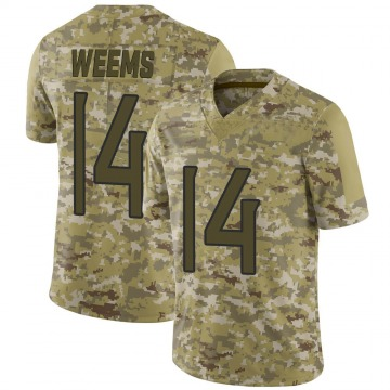 Youth Nike Tennessee Titans Eric Weems Camo 2018 Salute to Service Jersey - Limited