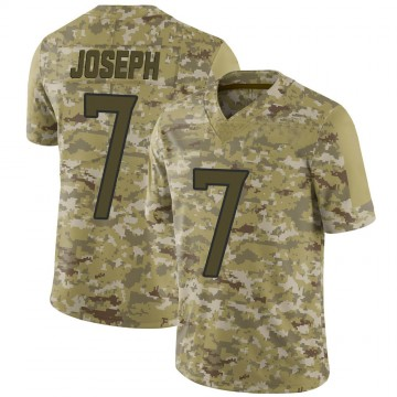 Youth Nike Tennessee Titans Greg Joseph Camo 2018 Salute to Service Jersey - Limited