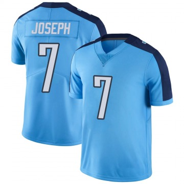Youth Nike Tennessee Titans Greg Joseph Light Blue Color Rush Jersey - Limited