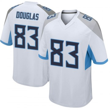 Youth Nike Tennessee Titans Harry Douglas White Jersey - Game