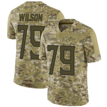 Youth Nike Tennessee Titans Isaiah Wilson Camo 2018 Salute to Service Jersey - Limited