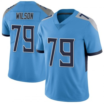 Youth Nike Tennessee Titans Isaiah Wilson Light Blue Vapor Untouchable Jersey - Limited