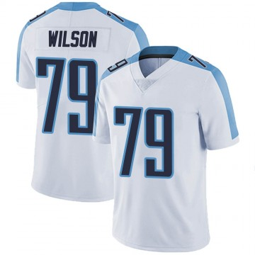 Youth Nike Tennessee Titans Isaiah Wilson White Vapor Untouchable Jersey - Limited