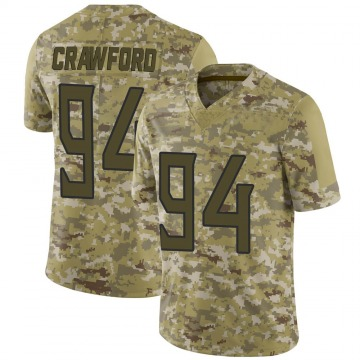 Youth Nike Tennessee Titans Jack Crawford Camo 2018 Salute to Service Jersey - Limited