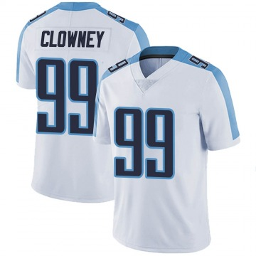 Youth Nike Tennessee Titans Jadeveon Clowney White Vapor Untouchable Jersey - Limited