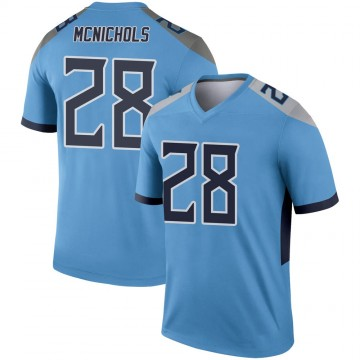 Youth Nike Tennessee Titans Jeremy McNichols Light Blue Jersey - Legend
