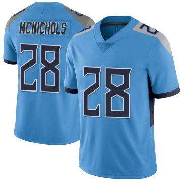 Youth Nike Tennessee Titans Jeremy McNichols Light Blue Vapor Untouchable Jersey - Limited