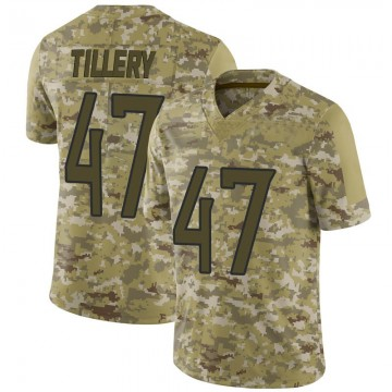 Youth Nike Tennessee Titans JoJo Tillery Camo 2018 Salute to Service Jersey - Limited