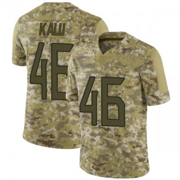 Youth Nike Tennessee Titans Joshua Kalu Camo 2018 Salute to Service Jersey - Limited