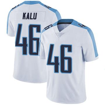 Youth Nike Tennessee Titans Joshua Kalu White Vapor Untouchable Jersey - Limited