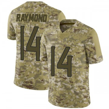 Youth Nike Tennessee Titans Kalif Raymond Camo 2018 Salute to Service Jersey - Limited