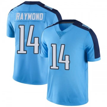 Youth Nike Tennessee Titans Kalif Raymond Light Blue Color Rush Jersey - Limited