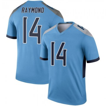 Youth Nike Tennessee Titans Kalif Raymond Light Blue Inverted Jersey - Legend