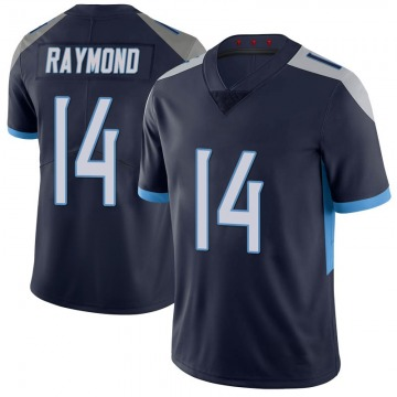 Youth Nike Tennessee Titans Kalif Raymond Navy 100th Vapor Untouchable Jersey - Limited