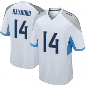 Youth Nike Tennessee Titans Kalif Raymond White Jersey - Game