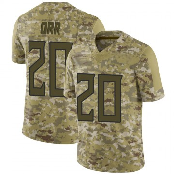 Youth Nike Tennessee Titans Kareem Orr Camo 2018 Salute to Service Jersey - Limited