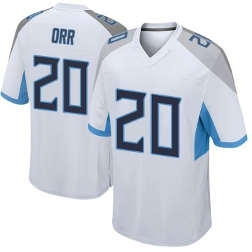 Youth Nike Tennessee Titans Kareem Orr White Jersey - Game