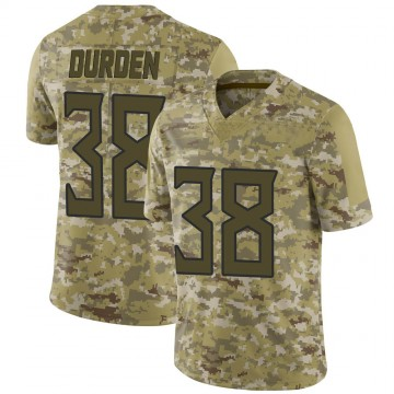 Youth Nike Tennessee Titans Kenneth Durden Camo 2018 Salute to Service Jersey - Limited