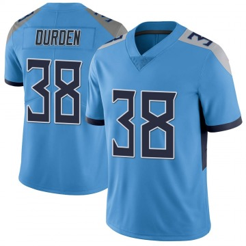 Youth Nike Tennessee Titans Kenneth Durden Light Blue Vapor Untouchable Jersey - Limited