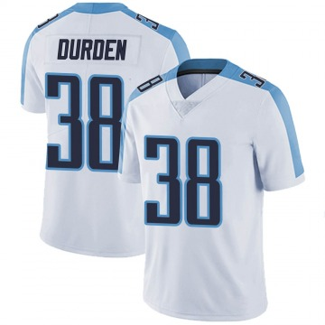 Youth Nike Tennessee Titans Kenneth Durden White Vapor Untouchable Jersey - Limited