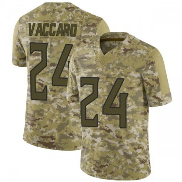 Youth Nike Tennessee Titans Kenny Vaccaro Camo 2018 Salute to Service Jersey - Limited