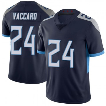 Youth Nike Tennessee Titans Kenny Vaccaro Navy 100th Vapor Untouchable Jersey - Limited