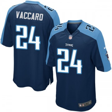 Youth Nike Tennessee Titans Kenny Vaccaro Navy Blue Alternate Jersey - Game