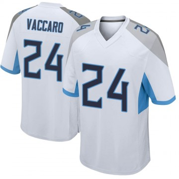 Youth Nike Tennessee Titans Kenny Vaccaro White Jersey - Game