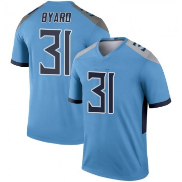 Youth Nike Tennessee Titans Kevin Byard Light Blue Inverted Jersey - Legend