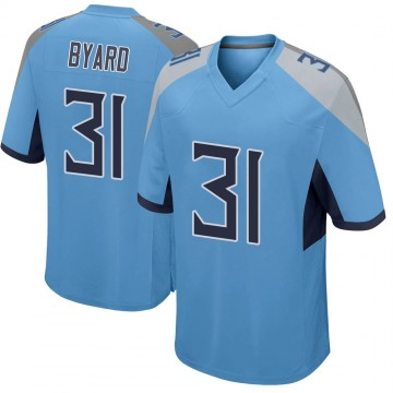 Youth Nike Tennessee Titans Kevin Byard Light Blue Jersey - Game