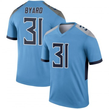 Youth Nike Tennessee Titans Kevin Byard Light Blue Jersey - Legend