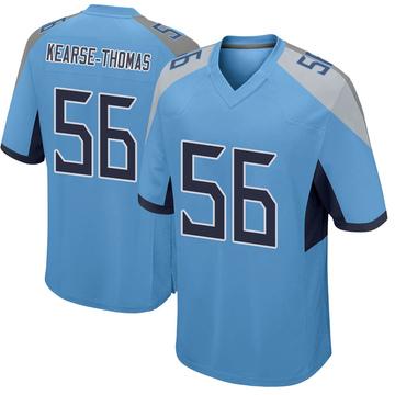 Youth Nike Tennessee Titans Khaylan Kearse-Thomas Light Blue Jersey - Game