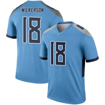 Youth Nike Tennessee Titans Kristian Wilkerson Light Blue Jersey - Legend