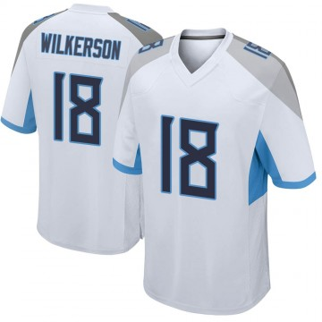 Youth Nike Tennessee Titans Kristian Wilkerson White Jersey - Game