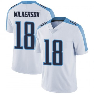 Youth Nike Tennessee Titans Kristian Wilkerson White Vapor Untouchable Jersey - Limited