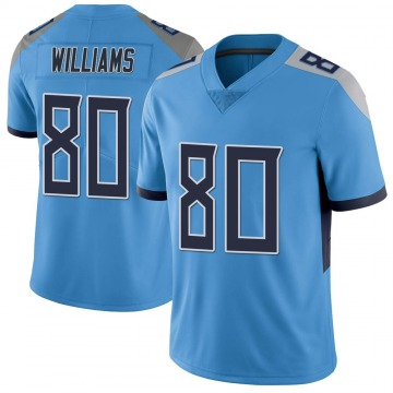 Youth Nike Tennessee Titans Kyle Williams Light Blue Vapor Untouchable Jersey - Limited