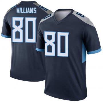 Youth Nike Tennessee Titans Kyle Williams Navy Jersey - Legend