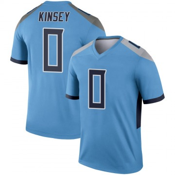 Youth Nike Tennessee Titans Mason Kinsey Light Blue Jersey - Legend