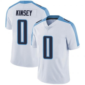 Youth Nike Tennessee Titans Mason Kinsey White Vapor Untouchable Jersey - Limited