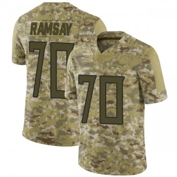 Youth Nike Tennessee Titans Mike Ramsay Camo 2018 Salute to Service Jersey - Limited