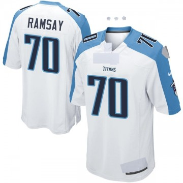 Youth Nike Tennessee Titans Mike Ramsay White Jersey - Game