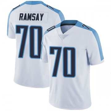 Youth Nike Tennessee Titans Mike Ramsay White Vapor Untouchable Jersey - Limited